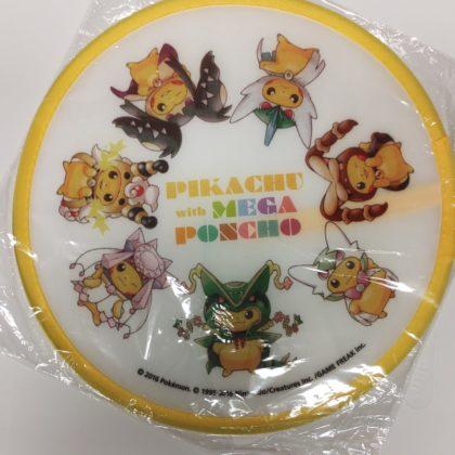 Pokemon flying disc – Pikachu with Mega Poncho